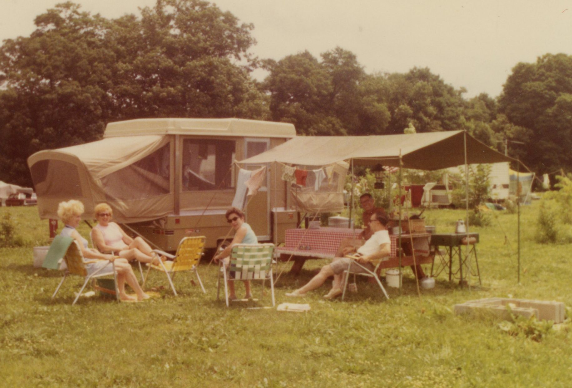 A History of Camping | Driftstone Campground Blog